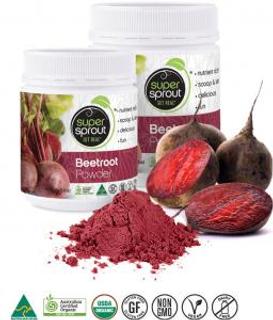 Super Sprout Lyofilizovaná červená řepa 80g Bio
