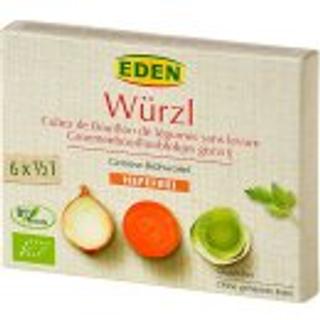 Würzl Bujón zeleninový kostky bez droždí BIO 72 g