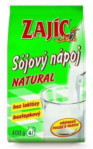 Mogador Zajíc sójový nápoj natural sáček 400 g