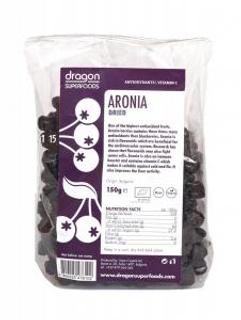Dragon Superfoods Aronie sušený plod 150 g Bio