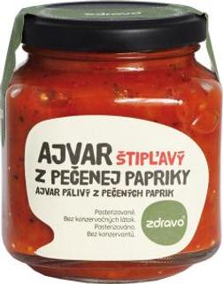 Zdravo Ajvar z pečených paprik pálivý 300g