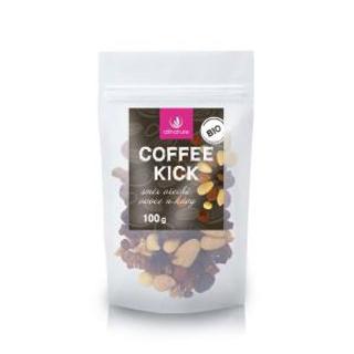 Allnature Coffee kick - směs ořechů, ovoce a kávy 100g Bio