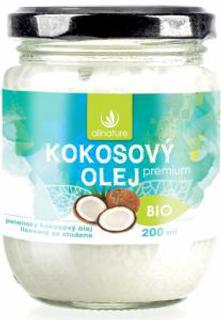 Allnature Kokosový olej panenský 200 ml Bio