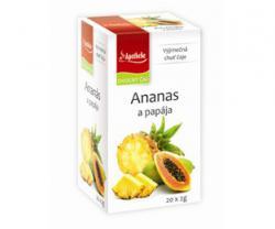 APOTHEKE premier čaj ananas a papája n.s. 20x2g