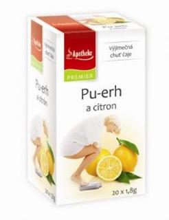 Apotheke Pu-erh a citron čaj 20 x 1,8 g