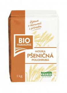 Bioharmonie Pšeničná mouka polohrubá 1 kg