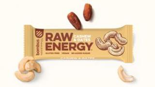 Bombus Raw Energy tyčinka kešu a datle 50g