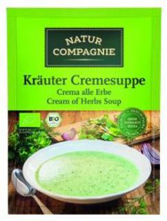 POLÉVKA bylinková krémová bio 38g Natur Compagnie