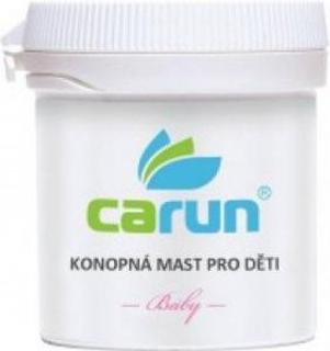 Carun Bio Konopná mast pro děti 105 ml