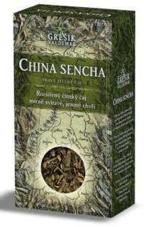 Grešík Čaje 4 světadílů China Sencha zelený čaj 70g