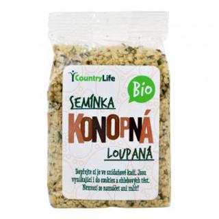 Country Life Konopné semeno loupané 100 g Bio