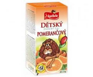 APOTHEKE čaj dětský ovocný pomerančový n.s. 20x2g