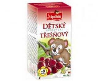 APOTHEKE čaj dětský ovocný třešňový n.s. 20x2g