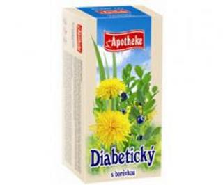 APOTHEKE čaj na krevní cukr n.s. 20 x 1,5 g