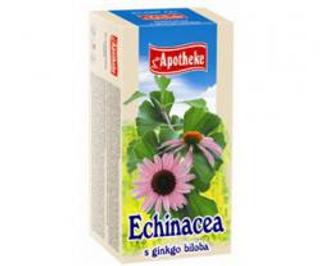 APOTHEKE čaj echinacea s ginkgo biloba n.s. 20x1,5g
