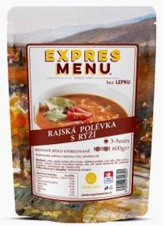 Expres Menu Rajská polévka s rýží 600g