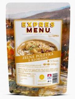 Expres Menu Zelná polévka s klobásou 600g
