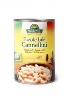 Biolinie Fazole bílé Cannellini sterilované 400g