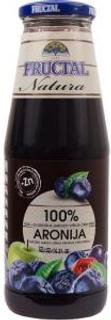 Fructal Šťáva aronie + hrozno 0,7 l