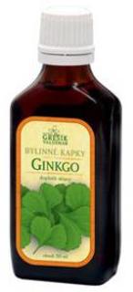 GINKGO bylinné kapky 50ml Grešík