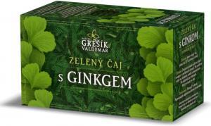 Grešík Zelený čaj s ginkgem n.s. 20 x 1,5 g