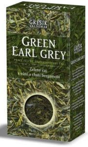 Grešík Green Earl Grey čaj sypaný 70 g
