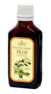 HLOH bylinné kapky 50ml Grešík