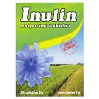 INULIN rozpustná vláknina sáčky 25x5g