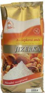 Jizerka bezlepková směs zlatá 1 kg