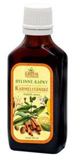 KARMELITÁNSKÉ bylinné kapky 50ml Grešík