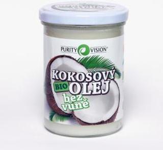 Purity Vision kokosový olej bez vůně 400ml Bio