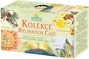 Grešík Kolekce bylinných čajů n.s. 5 x 4 druhy