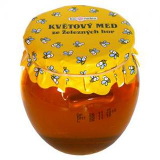 Bio Nebio Květový med ze Železných hor 650 g