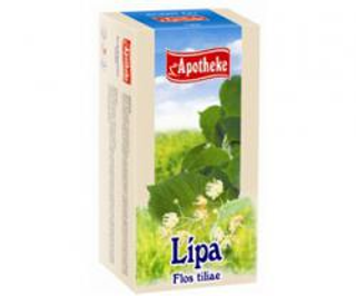 APOTHEKE čaj lípa 20 x 1,5 g