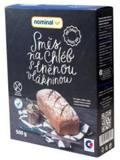 Nominal Bezlepková směs na chléb s lněnou vláknou 500g