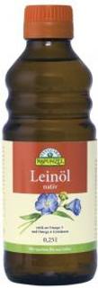 bio nebio Lněný olej lisovaný za studena Rapunzel Bio 250ml
