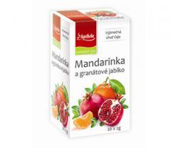 APOTHEKE premier čaj mandarinka a granátové jablko n.s. 20x2g