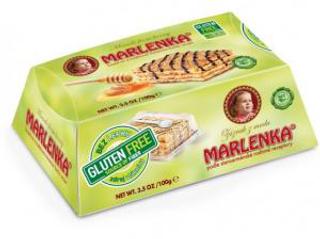 Marlenka Bezlepkový medový dortík s oříšky 100g