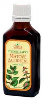 MÁTOVÉ žaludeční bylinné kapky 50ml Grešík