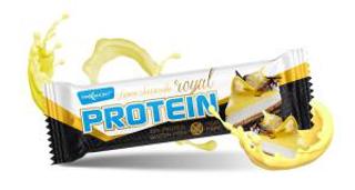 Maxsport Royal Protein Bar 60 g proteinová tyčinka citron s tvarohem