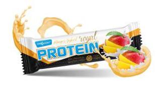 Maxsport Royal Protein Bar 60 g proteinová tyčinka mango + jogurt