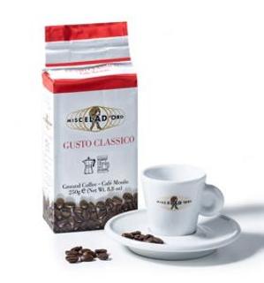 Miscela d´Oro Gusto Classico mletá káva vakuovaná 250g