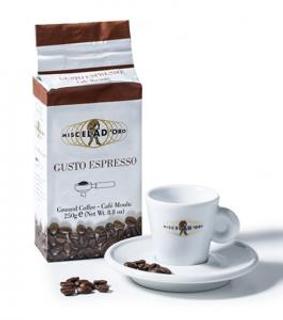 Miscela d´Oro Gusto Espresso mletá káva vakuovaná 250g
