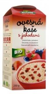 Biolinie Kaše ovesná jahodová 250g