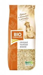 Bioharmonie Ovesné vločky jemné 500g