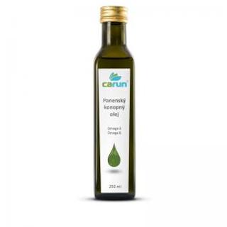 Carun Panenský konopný olej 250 ml