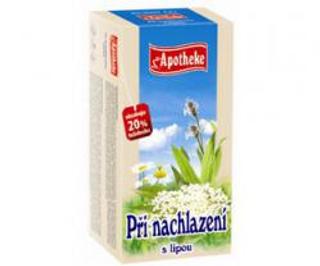 APOTHEKE čaj při nachlazení s lípou n.s. 20 x 1,5 g