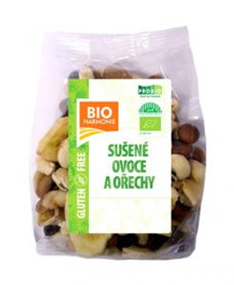 Bioharmonie Směs sušeného ovoce a ořechů 125g