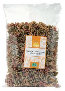 Vřetena pšeničná celozrnná barevná MIX BIOHARMONIE 400g