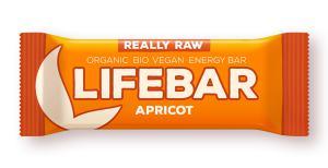 Lifefood Lifebar bio tyčinka meruňka 47g